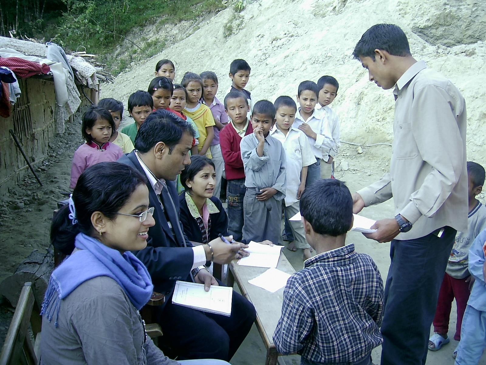 medical check up to orphan