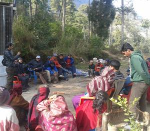volunteer agro farm program at VIN