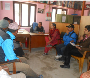volunter meeting