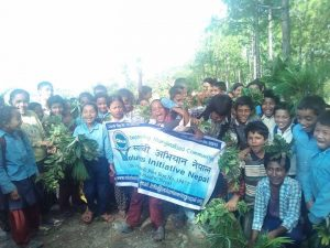 Children Summer camp conducted by VIN at okhaldhunga