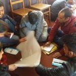 Group discussing about employability skills to fight against unemployment