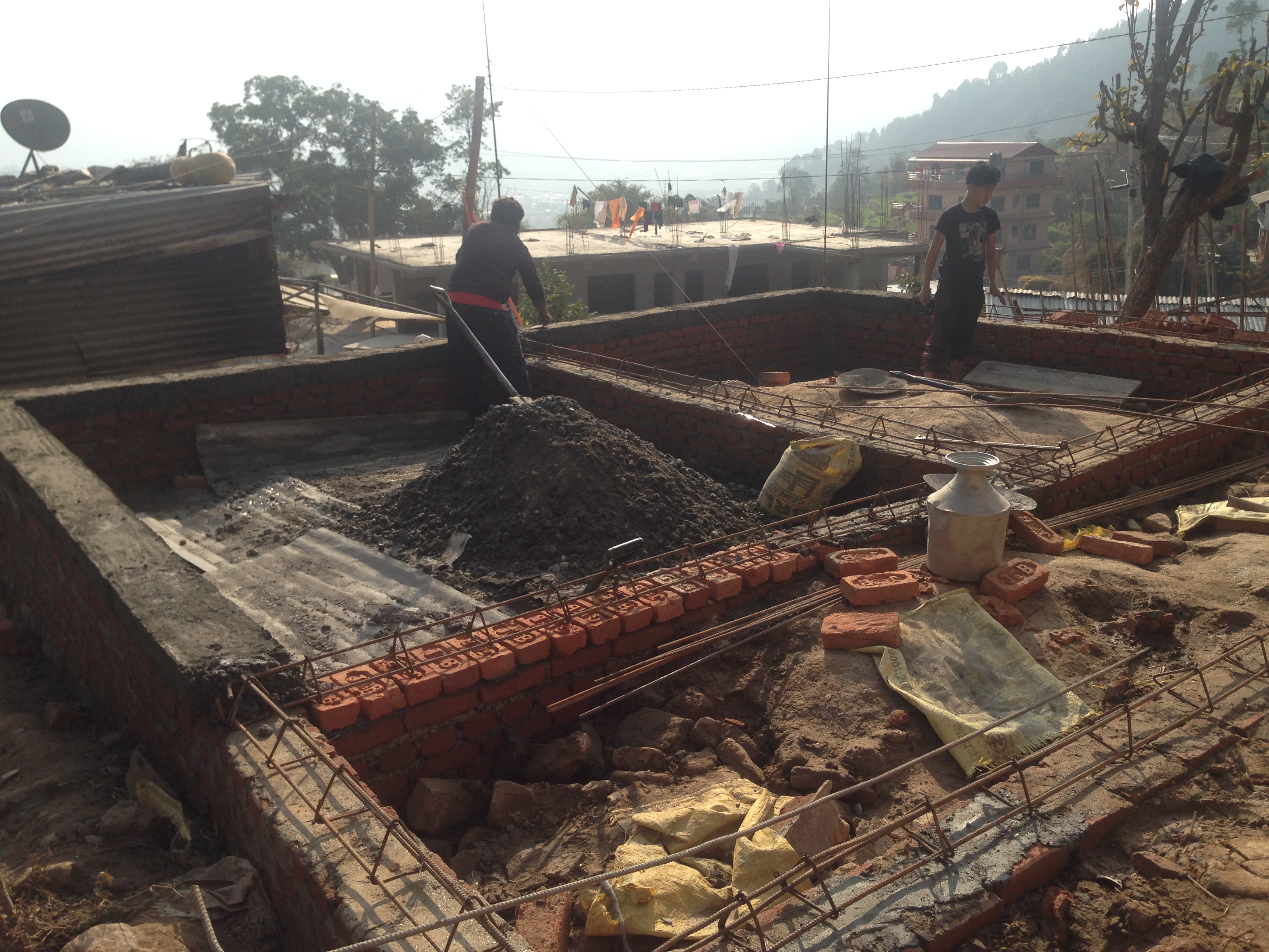 Re-construction of earthquake resistant home - volunteeringnepal