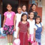volunteer in Nepal Orphanage home with these children