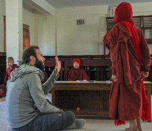 Teaching English Buddhist Monastery nunnery