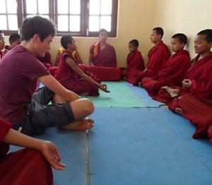 Yoga Teaching Volunteer Program of VIN