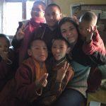 Nunnery Children with VIN's International Volunteer