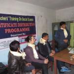 teacher training volunteers