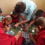 teaching at monastry