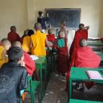 teaching in monastry