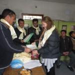 volunteer at teacher development