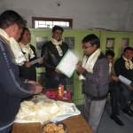 volunteer at teacher training