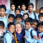 volunteering at community school
