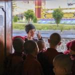 volunteering on buddhist monastry