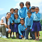 volunteer with community children