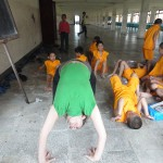 yoga volunteer in nepal