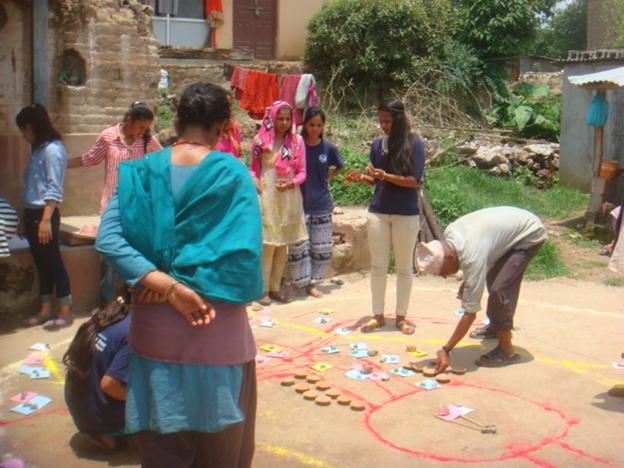 community survey at kavresthali organized by VIN