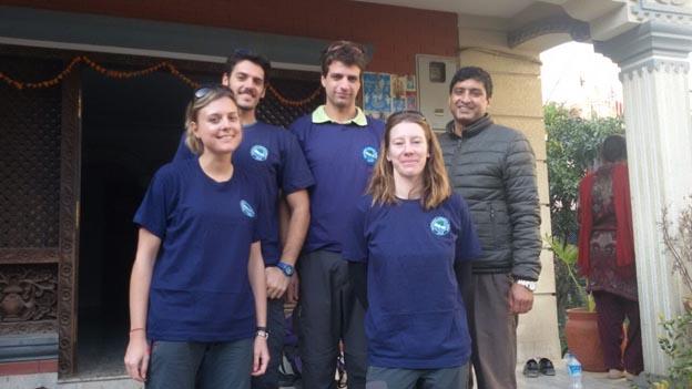 Volunteers at VIN for Workcamp in November