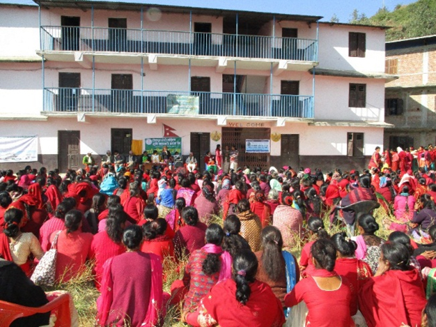 general assembly of women of Jitpur cooperative