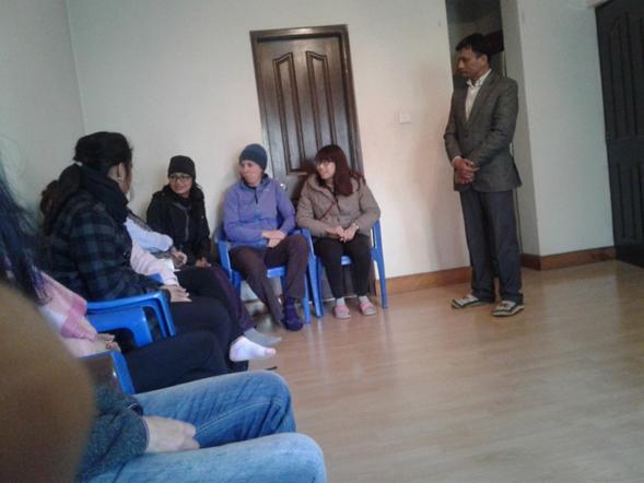 VIN meeting with their International volunteers