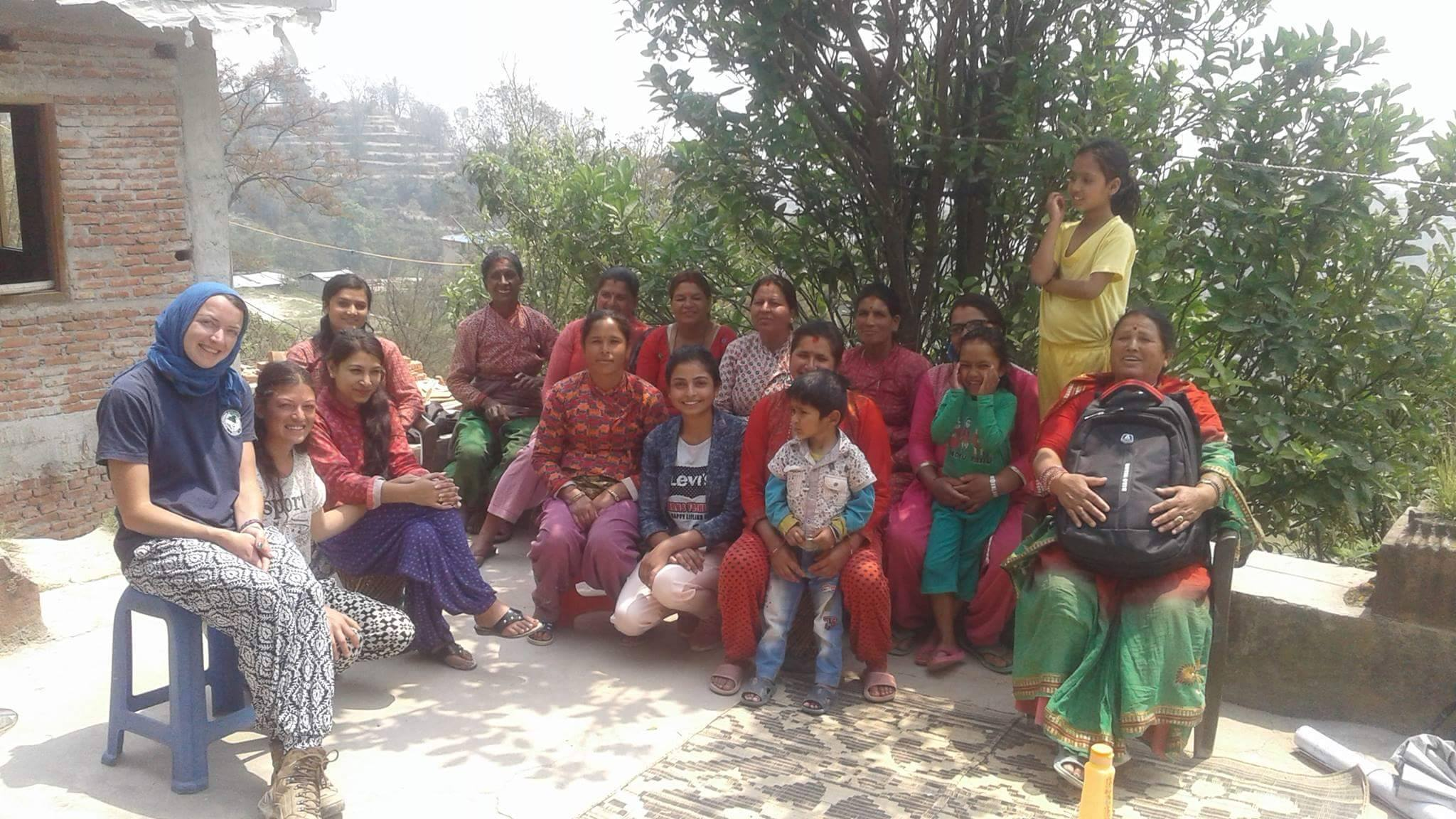 Reproductive health care campaign conducted by VIN along with International Volunteer