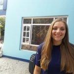 Emma De Jong smiling